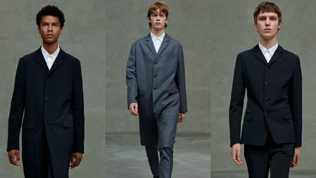 Muška Prada kolekcija: Odijela, formalni krojevi i bijele košulje