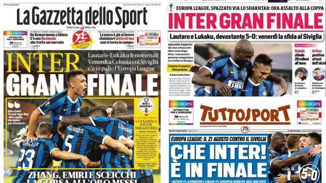 Još Sevilla! Brozović & Inter... Brane čast nogometne Italije