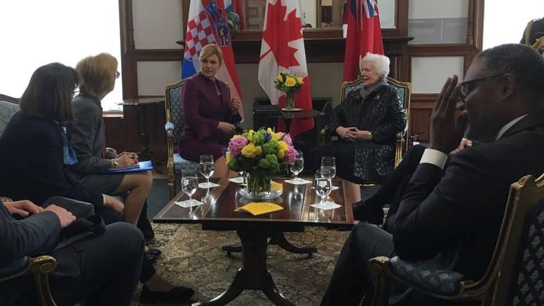 Kolinda iz Kanade: U mislima sam sa svima, pratim poplave