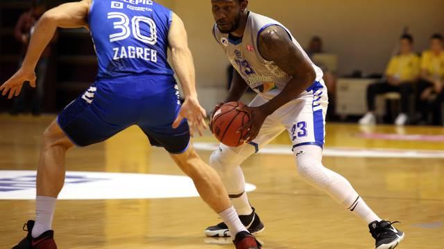Split: Prva polufinalna utakmica Kupa Krešimira Ćosića KK Zadar - KK Cibona
