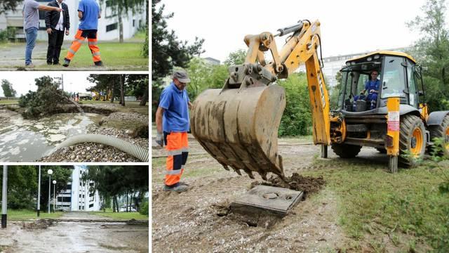Puknula glavna cijev: Bez vode ostao veliki dio Novog Zagreba