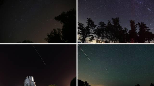 Spektakl na nebu: Pogledajte kako izgledaju Suze sv. Lovre