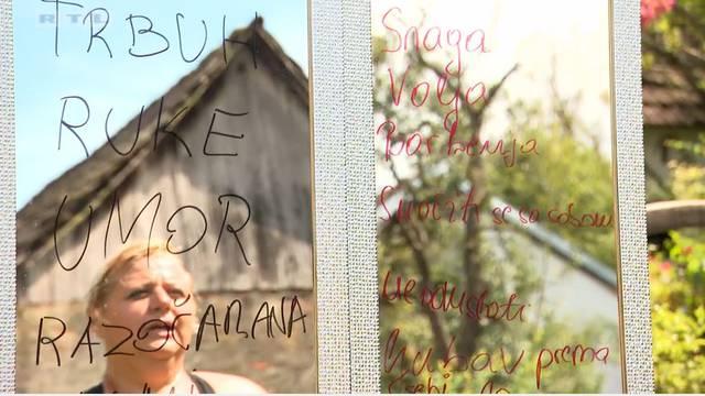 Vijoleta se nakon punih deset godina pogledala u ogledalo...