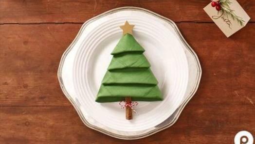 Super ideja za božićni ručak: Napravite lako borić od salveta