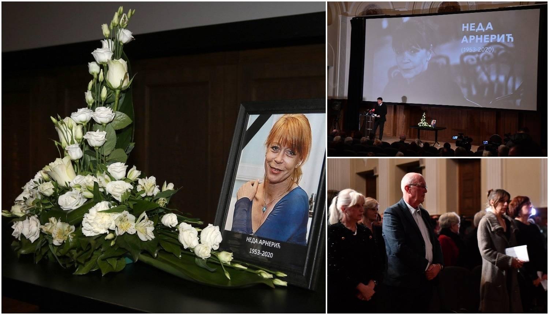 Dvorana u suzama: 'Otišla je Neda, oličenje života i ljubavi'