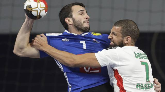 2021 IHF Handball World Championship - Main Round Group 3 - France v Algeria