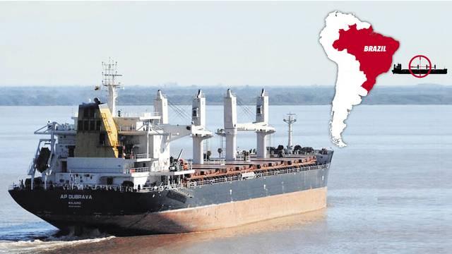 Atlantska plovidba: Brod 'AP Dubrava' nastavio je putovanje