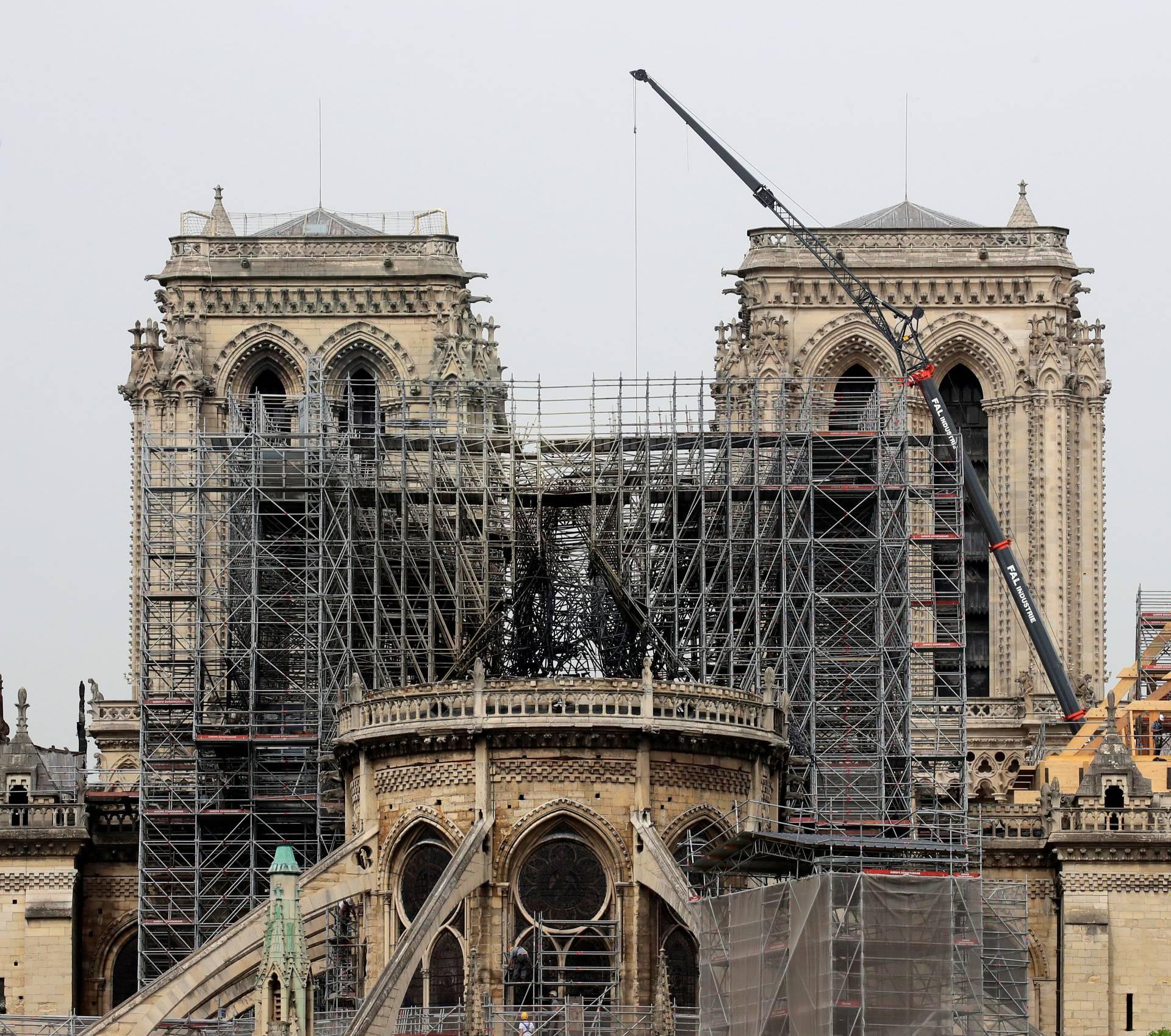 Drvo je najbolje rješenje za obnovu izgorjele Notre Dame