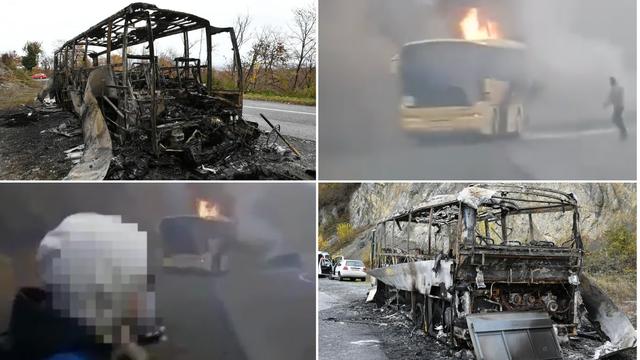 Detalji drame kraj Požege: 'Gle, mama, naš autobus se zapalio'