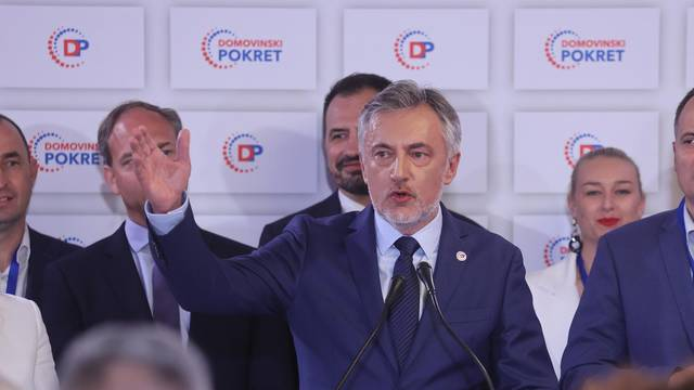 Izborni stožer kandidata za gradonačelnika Zagreba Miroslava Škore