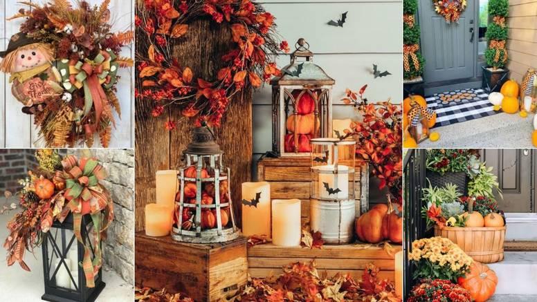 20 prijedloga: Evo kako urediti ulazna vrata plodovima jeseni