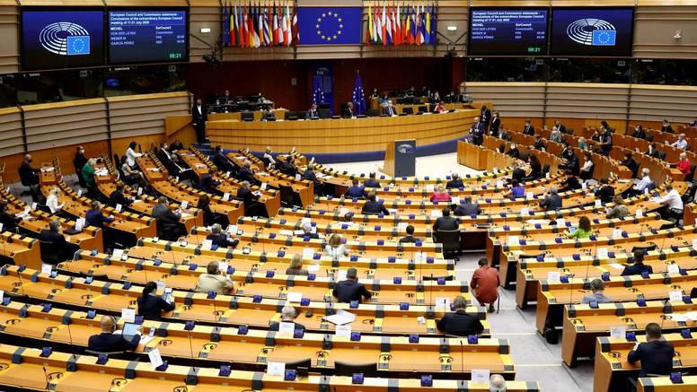 Plenarna sjednica Europskog  parlamenta putem video veze