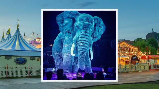 Cirkus iz Njemačke zamijenio žive životinje - hologramima