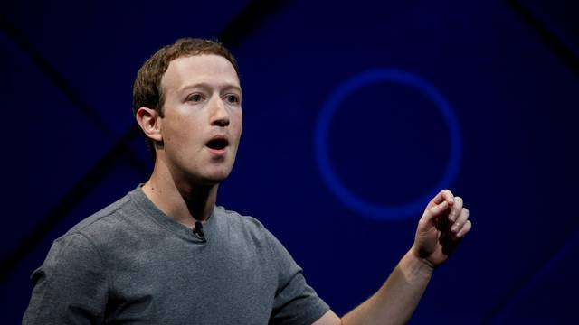 FILE PHOTO: Facebook Founder and CEO Mark Zuckerberg speaks on stage in San Jose