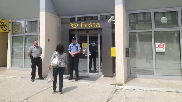 Treći put ove godine opljačkana Pošta u zagrebačkom Središću