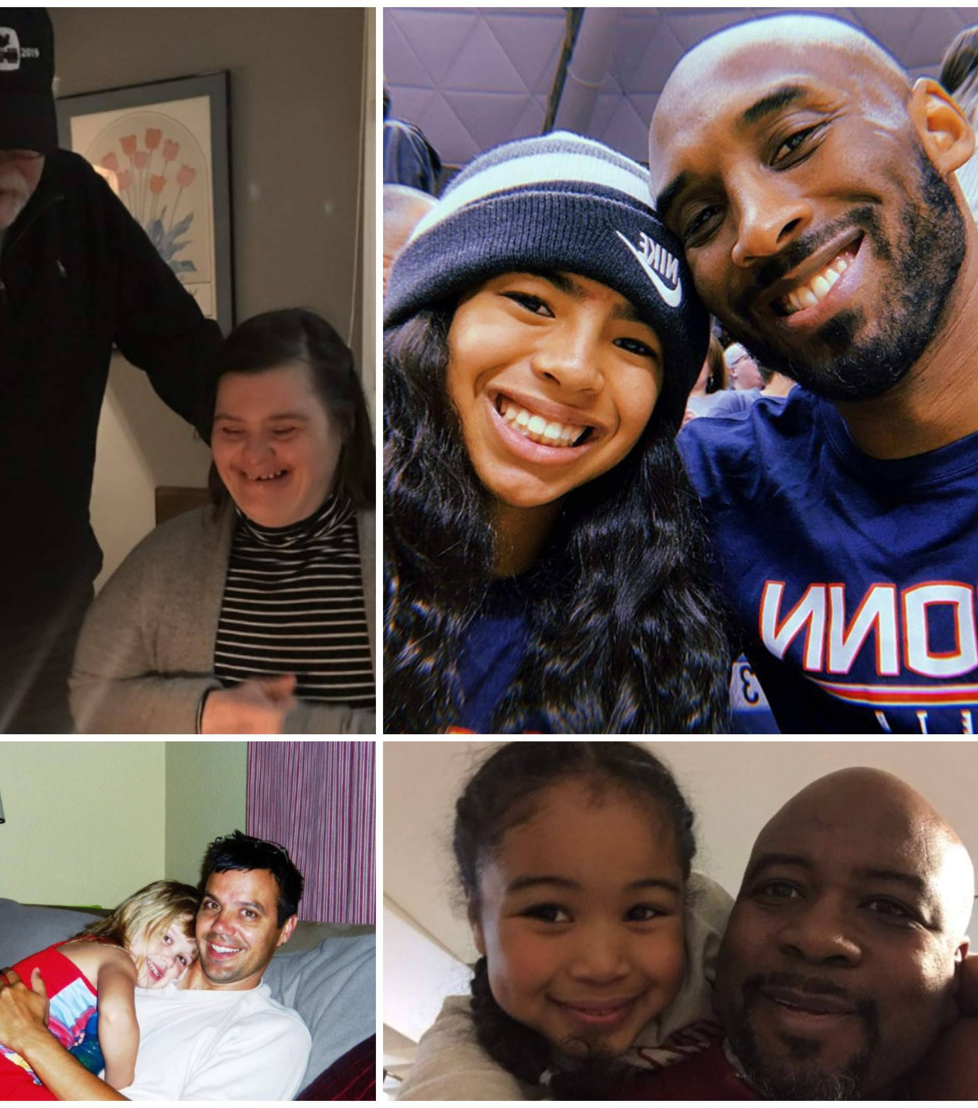 'Ponosni smo očevi djevojčica': Tate odaju počast Kobeu i kćeri