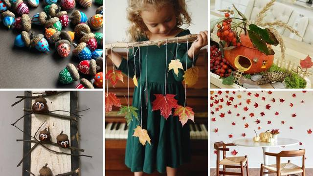 Zabava za obitelj: 20 ideja kako urediti dom u jesenskom stilu