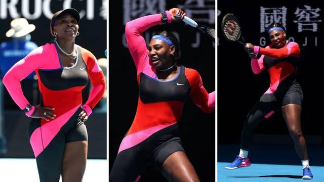 Serena: Trebao je kombinezon biti kraći, ali nisam htjela kaznu