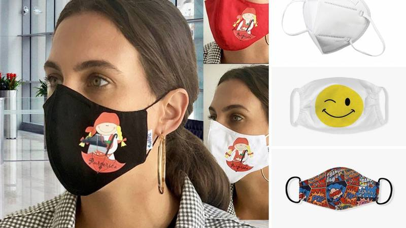 Dizajnerskih maski ima već za 20-ak kuna, ali antivirusne maske idu i preko 100 kuna