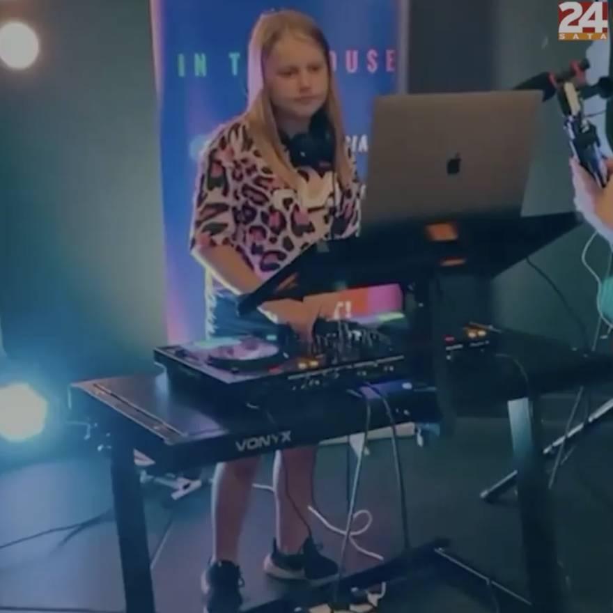 Liv (11) je najmlađa DJ-ica u Velikoj Britaniji: 'Umiješa novu pjesmu svakih par minuta'