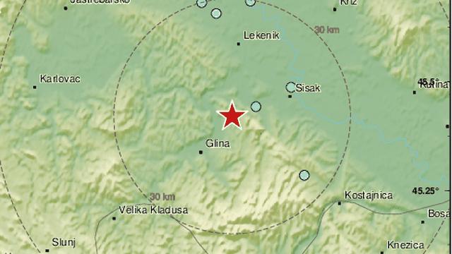 Hrvatsku zatresao novi potres, bio je jačine 4,1 po Richteru