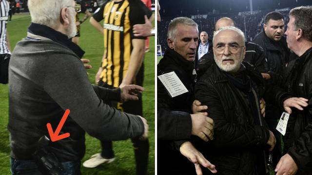 Tko je 'grčki Mamić': Šef PAOK-a koji na teren utrčava s pištoljem  'igra' za Vladimira Putina...