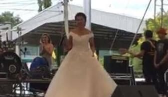 Uživo prenosila svoju svadbu, a onda šok: Gdje je mladoženja?!