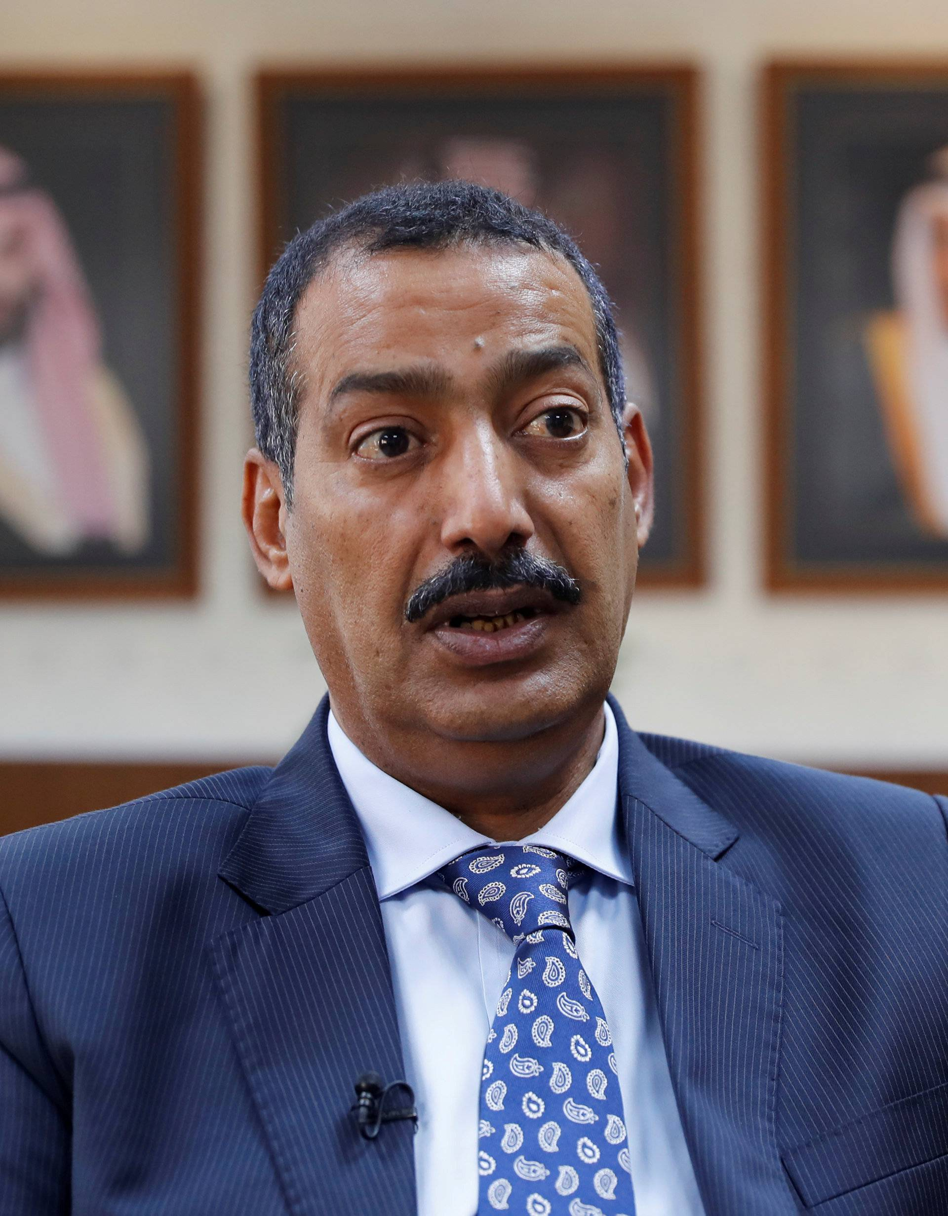 FILE PHOTO: Consul General of Saudi Arabia Mohammad al-Otaibi answers questions during an interview with Reuters at Saudi Arabia's consulate in Istanbul