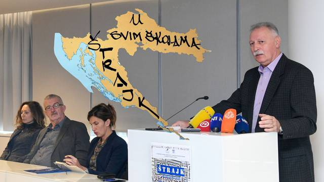 'Prosvjedovat ćemo na Trgu sv. Marka i na Trgu bana Jelačića'