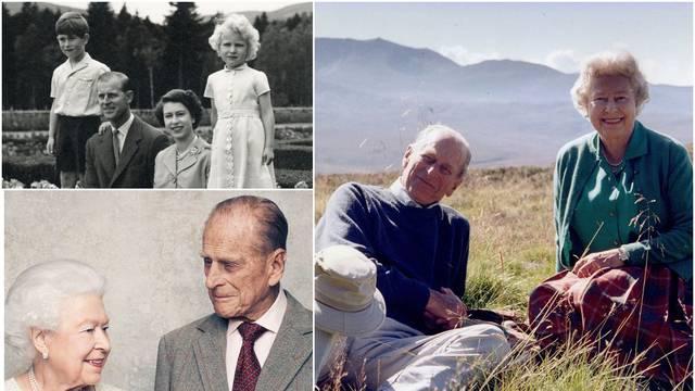 Na dan sprovoda princa Philipa, kraljica Elizabeta najdražim se fotografijama oprostila od muža