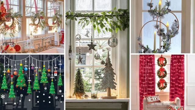 Unesite toplinu u dom: 20 ideja kako ukrasiti prozore za Advent