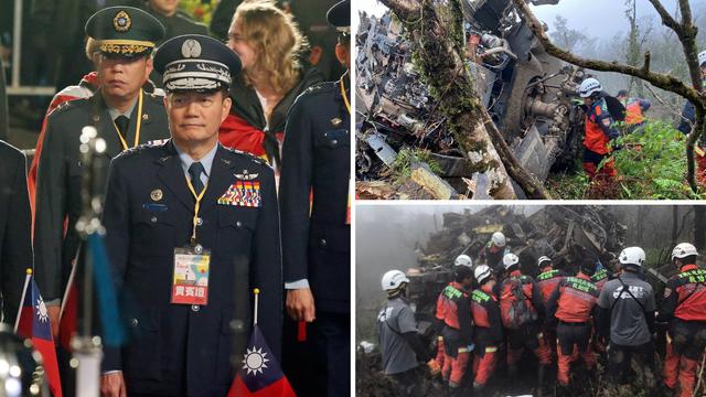 Helikopter se srušio: Poginuo  je načelnik glavnog stožera