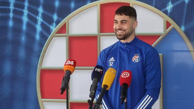 Zagreb: Druženje novinara s igračima Dinama uoči uzvratne utakmice s Villarealom