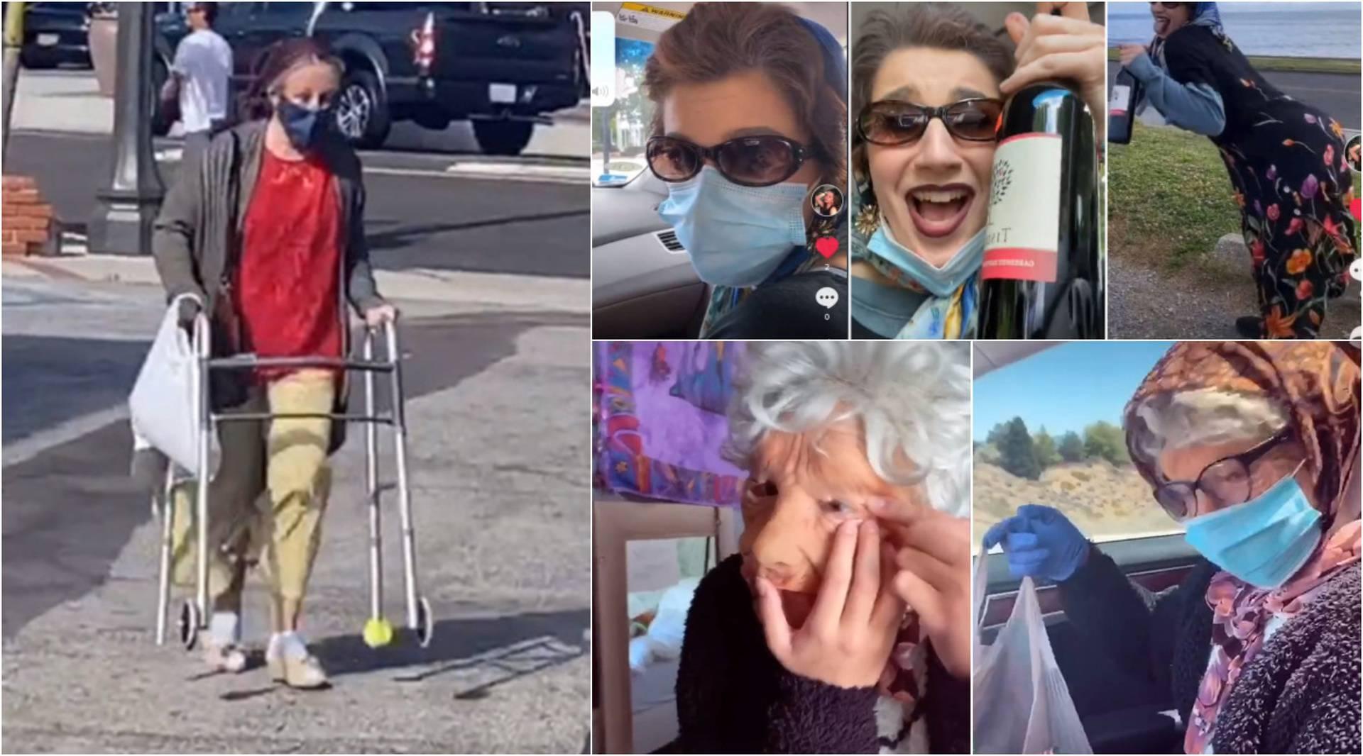 Klinci se maskiraju u bakice s maskom da mogu kupiti alkohol