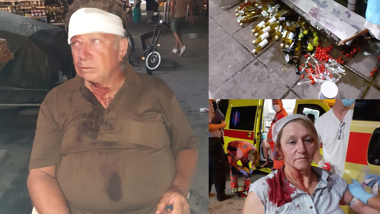 Kaos zbog otimanja kupaca: 'Ja sam dobio bocu u glavu, a moju djelatnicu su udarali šakom'