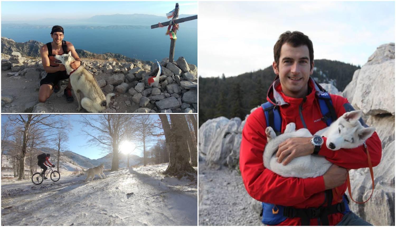 Prvi snijeg u Lokvama: 'Mishka nije prestajala skakati i trčati'