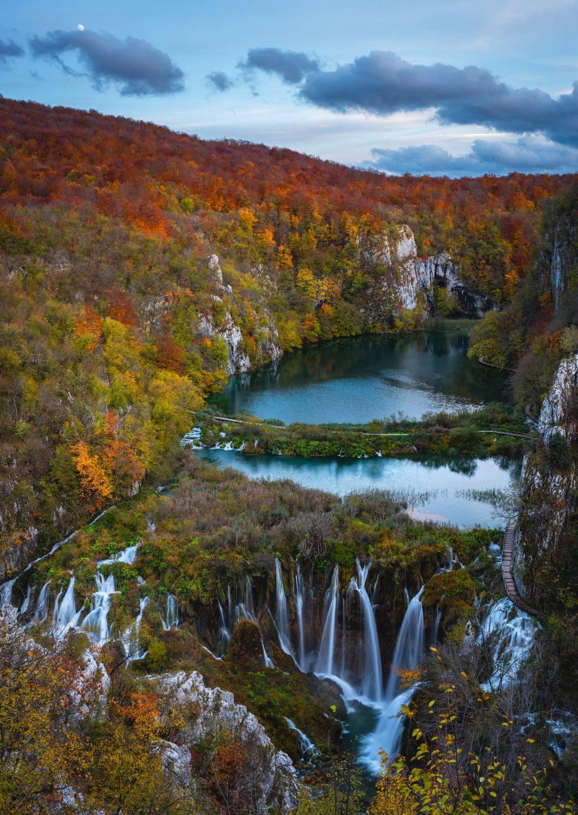 Čarobna jesen u Nacionalnom parku Plitvička jezera