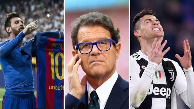 Capello: Postoje tri genijalca, ali Ronaldo nije među njima...