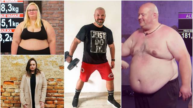 Odbacili loše navike i vježbali pa su skinuli i po 80 kilograma