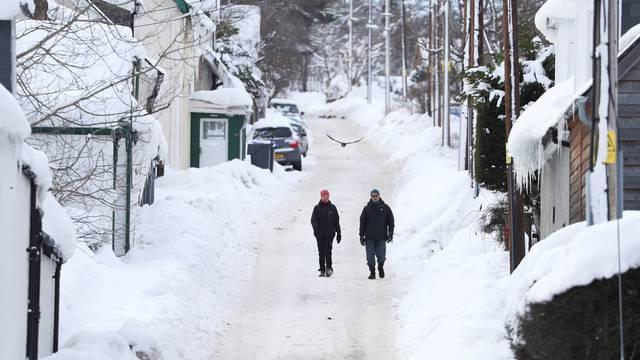 Snowfall in Braemar