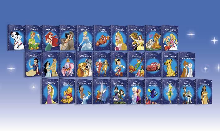 Disneyjevi klasici su opet s  nama! Ispunite kratki upitnik