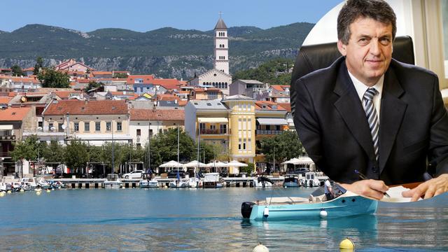Gradonačelnik Crikvenice pozitivan na koronu: 'Osjećam se kao da sam prehlađen'