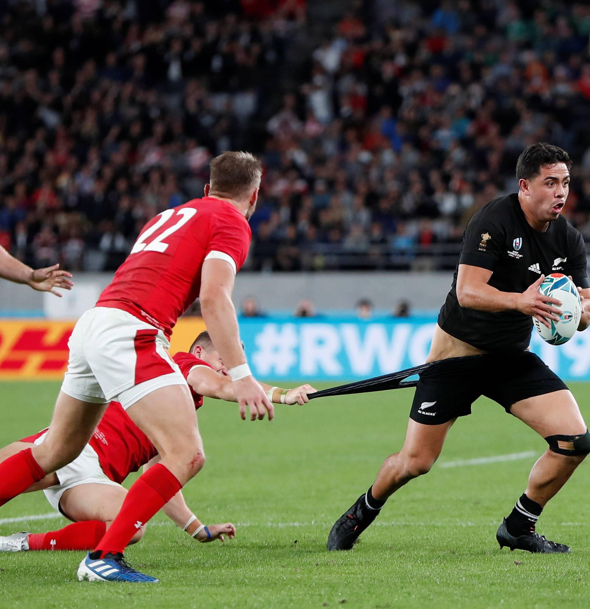 Rugby World Cup - Bronze Final - New Zealand v Wales