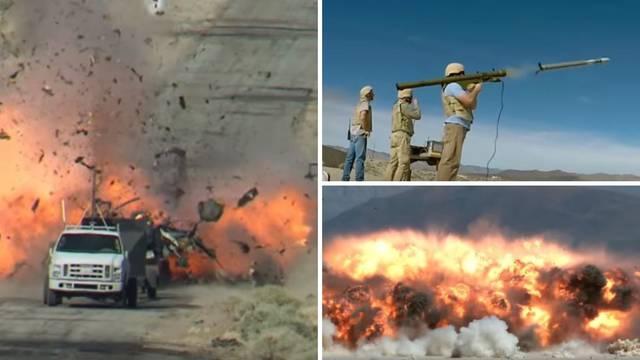 Kad Ameri testiraju oružje: Dramatični kadrovi uništenja!
