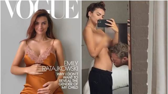 Emily Ratajkowski je trudna...