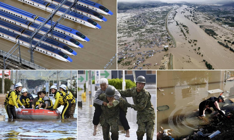 Najmanje 19 mrtvih u tajfunu u Japanu, srušila se i brana