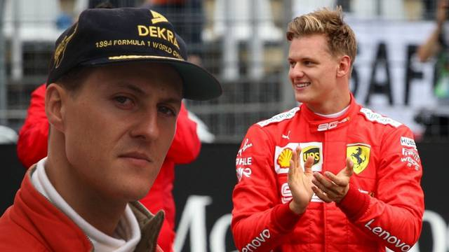 Schumi je svjestan svega: 'Bori se i prati sina na putu prema F1'