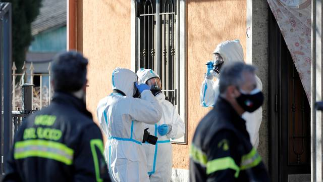 Suspected monoxide poisoning accident in a care home in Lanuvio