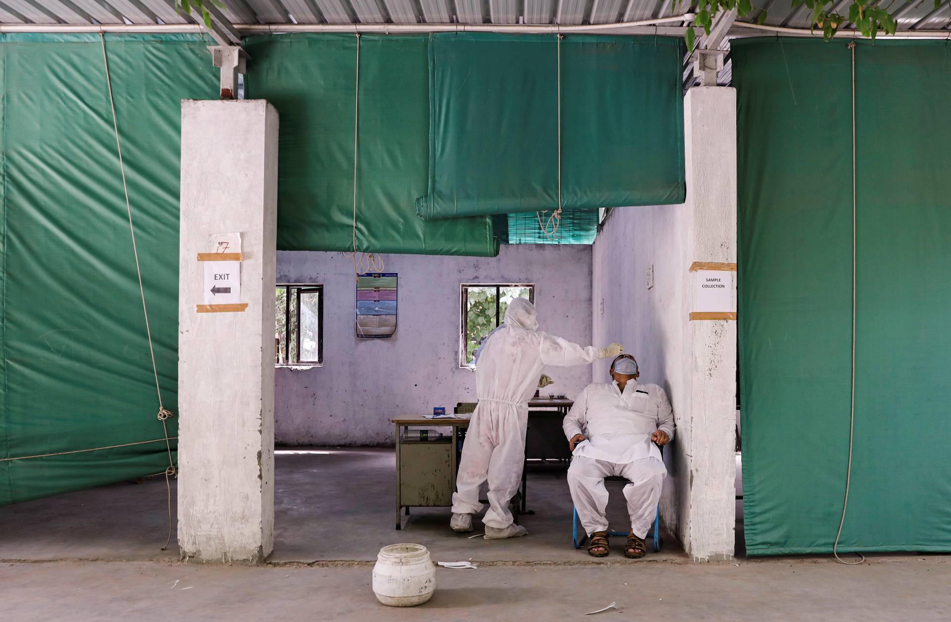 Outbreak of the coronavirus disease (COVID-19), in New Delhi