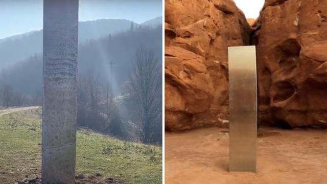Monolit u SAD-u nestao, a onda se sličan pojavio u Rumunjskoj!